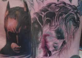 batman and joker tattoo images tattoos book 65 000 tattoos designs