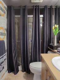 How To Hang Shower Curtain The Best Way To Cover Dated Shower Doors Maria Killam The True