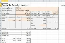 payroll templates for excel and loads more excel ireland