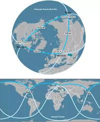distance between two points map what will the shortest distance between two places on the