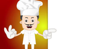 animation cuisine bakery chef animation hd 1080 stock footage