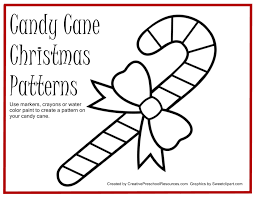 7 best images of printable candy cane pattern christmas candy