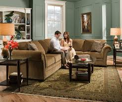 Simmons Sleeper Sofa by Amazon Com Simmons Upholstery Atmore Sectional Sofa Atmore Putty