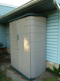 review rubbermaid resin outdoor storage shed gardening channel