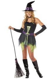 Witch Halloween Costumes Teen Girls Bold Witch Costume Halloween Costumes Costumes And