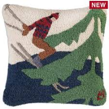hooked wool pillows by chandler 4 corders
