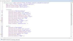 layout plani nedir main xml üzerine ve ilk android programı tutorials4everybody