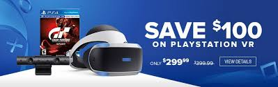 best playstation 4 and ps vr black friday deals up