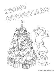 put tree coloring pages hellokids