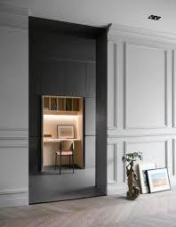 office de cuisine dans la continuité des meubles de cuisine un bureau niche habillé