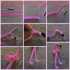 crafty moms share flamingo friday sylvie pipe cleaners