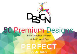 50 premium designs from template monster at the price of one