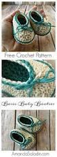 crochet baby booties pattern lots of the sweetest idea
