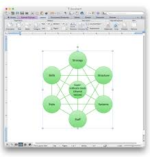how to add a cross functional flowchart to an ms word document