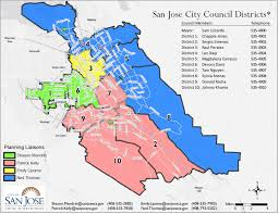san jose district map district 6 map councilmember dev davis