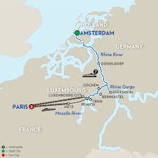 Dusseldorf Germany Map by 10 Day Avalon River Cruise From Amsterdam To Paris 2017