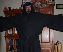 costume wizard robe easy wizard robe 4 steps