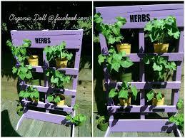 diy herb garden easy diy vertical pallet garden u2022 1001 pallets