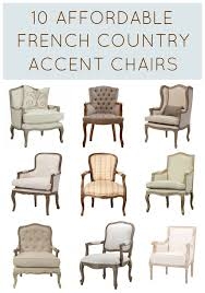 Inexpensive Armchairs 10 Affordable French Country Chairs Under 500 French Furniture