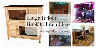 Diy Hutch Large Indoor Rabbit Hutch Diy Rabbit Cage Ideas U0026 Accessories