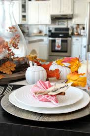 easy leaf napkin fold for fall or thanksgiving tablescape clean