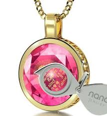 birthday gift idea for her 14kt gold necklace only from nano jewelry
