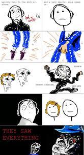 Funny Rage Memes - rage comics michael jackson jokeitup com