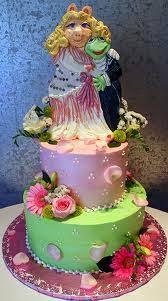 miss piggy u0026 kermit the frog wedding cake topper the wedding