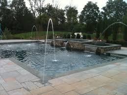Backyard Pool Landscaping by Triyae Com U003d Custom Backyard Pool Designs Various Design