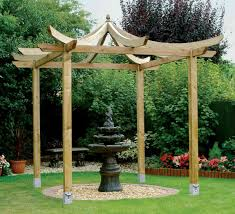 Outdoor Yard Decor Ideas Garden U0026 Outdoor Inspiring Pergola Plans For More Beautiful Yard