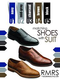 how to pick the right shoes for any color suit business insider