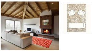 Choosing Area Rugs How To Select An Appropriately Sized Area Rug Hmd