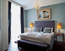 Interior Design Trends  Comfortable Chic Decorating Ideas - Blue and purple bedroom ideas