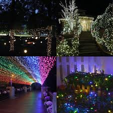 Halloween Yard Lighting Amazon Com Solar String Lights Outdoor Addlon Led Christmas