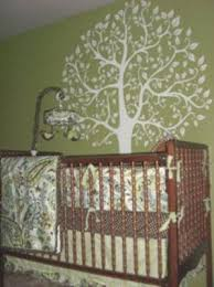 Nature Themed Crib Bedding Nature Nursery Theme Our Baby S Green Tree Nature Theme Nursery