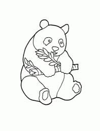 free printable panda coloring pages for kids animal place cute