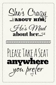 wedding seating signs a seat wedding sign free printable