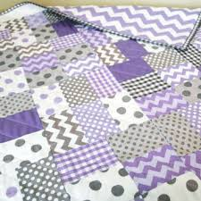 Lavender And Grey Crib Bedding Shop Chevron Crib Bedding On Wanelo