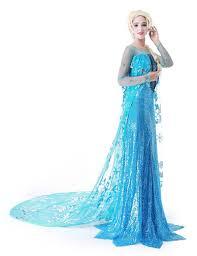 elsa halloween costume girls aliexpress com buy titivate princess anna elsa queen girls party