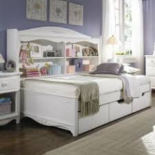 retreat twin sideways bed with slats and storage by lea industries