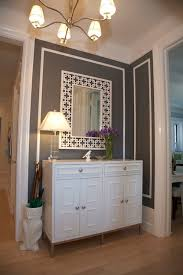 charcoal gray paint color contemporary entrance foyer