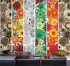 flower power wall murals and wallpaper pinterest flower flower power mural mr perswall murals a bold stylised psychadelic floral panel design with large scale flowers available as individual panels or