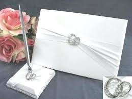 wedding guest book and pen set quinceanera guestbooks black damask wedding guest book pen set