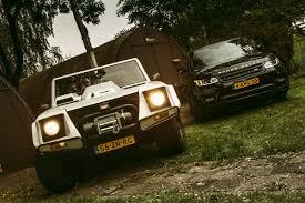 lamborghini jeep lm002 lamborghini lm002 vs range rover sport s c english subtitled