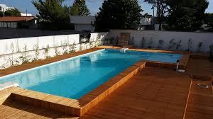 rivestimento in legno per piscine fuori terra la piscina fuoriterra 礙 una soluzione di veloce realizzazione