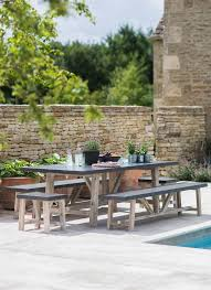 Farmhouse Patio Table by Best 25 Garden Table And Chairs Ideas Only On Pinterest