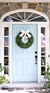 front doors color benjamin moore spring rain beautiful homes of
