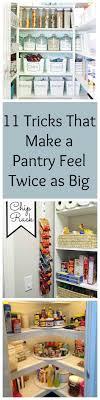 kitchen pantry closet organization ideas best 25 pantry closet organization ideas on kitchen