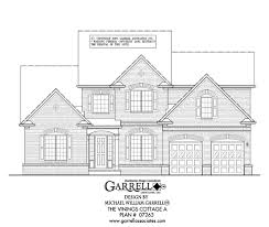 traditional house plans vinings cottage a house plan house plans by garrell associates inc