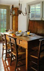 108 best primitive tables images on pinterest primitive decor nice primitive space i am in love with that wonderful clock primitive dining rooms farmhouse kitchen tables